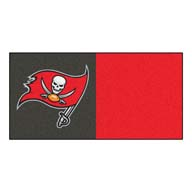 Tampa Bay Buccaneers FANMATS NFL Carpet Tiles