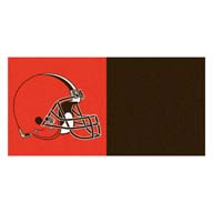 Cleveland Browns FANMATS NFL Carpet Tiles