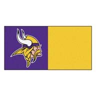 Minnesota Vikings FANMATS NFL Carpet Tiles