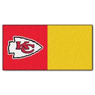 Kansas City Chiefs FANMATS NFL Carpet Tiles