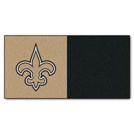 New Orleans Saints FANMATS NFL Carpet Tiles