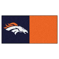 Denver Broncos FANMATS NFL Carpet Tiles