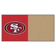 San Francisco 49ers FANMATS NFL Carpet Tiles