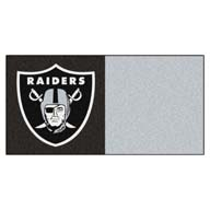 Oakland Raiders FANMATS NFL Carpet Tiles