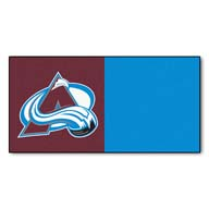 Colorado Avalanche FANMATS NHL Carpet Tiles