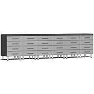 Stardust Silver MetallicUlti-MATE Garage 2.0 8-PC Workstation - Drawers