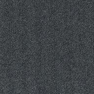 Gunmetal Ribbed Carpet Tile - Designer