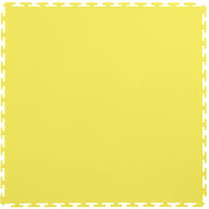 Yellow7mm Smooth Flex Tiles