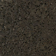 "Black 3/8"" Reactive Rubber Tiles"
