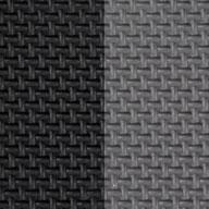 "Black/Grey 7/8"" Jumbo Soft Tiles"
