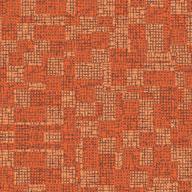 Orange Joy Carpets Prism Carpet Tile