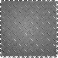 Light Gray Diamond Flex Tiles
