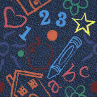 MultiJoy Carpets Kid's Art Carpet Tile