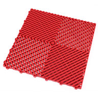 Racing RedSwisstrax Garage Tiles