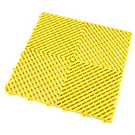 Citrus YellowSwisstrax Garage Tiles