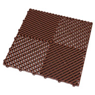 Chocolate BrownSwisstrax Garage Tiles