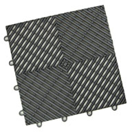 GraphiteVented Grid-Loc Tiles™