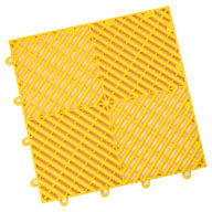 Rally YellowVented Grid-Loc Tiles™