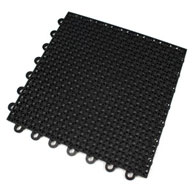 Black Vented Ultra-Loc Tiles