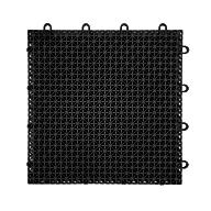 Black Designer Grip-Loc Tiles
