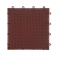 Brick Red Designer Grip-Loc Tiles