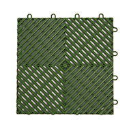 Green Vented Grip-Loc Tiles