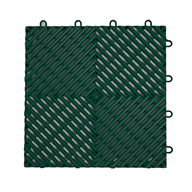 Evergreen Vented Grip-Loc Tiles