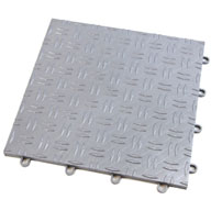 Gunmetal Diamond Grid-Loc Tiles™