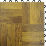Dark Wood Dance Tiles - Deluxe