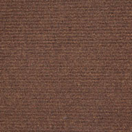 Walnut Wide Ribbed Carpet Tile