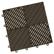 Choco BrownVented Grid-Loc Tiles™