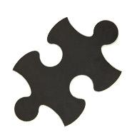 Black Puzzle Mats
