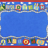 MultiJoy Carpets Reading Train Kids Rug