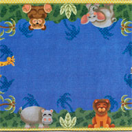 MultiJoy Carpets Jungle Friends Kids Rug