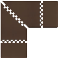 BrownWellnessMats PuzzlePiece - 3' Wide L Series