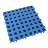 Blue w/ Black Premium Tiles w/ Traction Squares