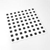 White w/ Black Premium Tiles w/ Traction Squares