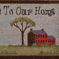 Welcome To Our HomeWelcome To Our Home Coir Doormat