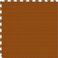 Terracotta 6.5mm Coin Flex Tiles - Designer Series