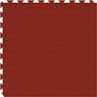 Brick Red 6.5mm Coin Flex Tiles - Designer Series