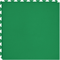 Green 6.5mm Smooth Flex Tiles