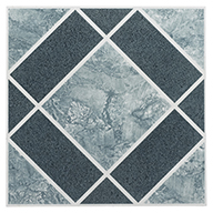 Blue DiamondStone Peel & Stick Vinyl Tile