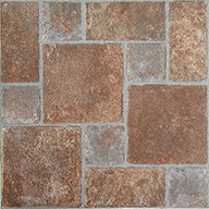Brick Pavers Stone Peel & Stick Vinyl Tile