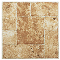TerracottaStone Peel & Stick Vinyl Tile