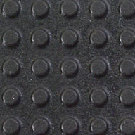 "Black1/2"" Button Top Stall Mat Kits"