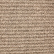 Almond Wide Ribbed Carpet Tile
