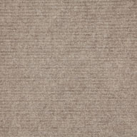 Taupe Wide Ribbed Carpet Tile