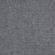 Gunmetal Wide Ribbed Carpet Tile