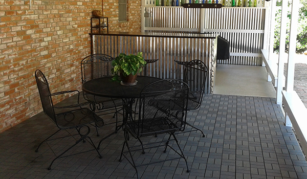 Naturesort Deck Tiles 8 Slat Durable Composite Decking