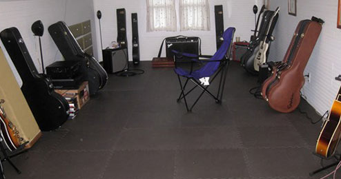 Turn your garage into your music practice space!